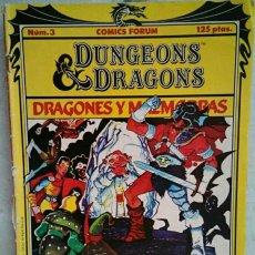 Comic n°3 dragones y mazmorras