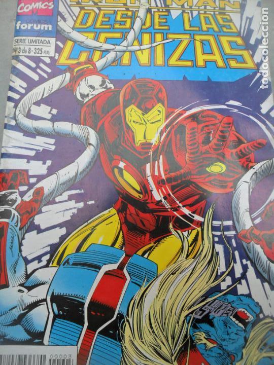 IRON-MAN DESDE LAS CENIZAS Nº 3 - MARVEL COMICS FORUM- (Tebeos y Comics - Forum - Iron Man)