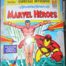 Cómics: ESTELA PLATEADA & IRON-MAN, ATLANTIS ATACA - MARVEL HEROES ESPECIAL INVIERNO - 64 PGNAS.. Lote 131888522