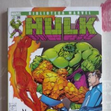 Comics : PANINI - BIBLIOTECA MARVEL HULK NUM. 26 . PERFECTO ESTADO. NUEVO. Lote 131974582