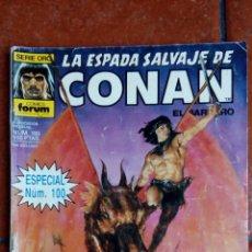 Cómics: LA ESPADA SALVAJE DE CONAN Nº 100: CONAN DE LAS ISLAS. Lote 132118782
