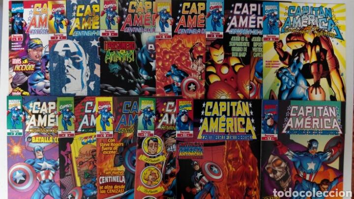 CAPITÁN AMÉRICA CENTINELA DE LA LIBERTAD COMPLETA 12 NÚMEROS EX (Tebeos y Comics - Forum - Capitán América)