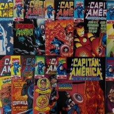 Cómics: CAPITÁN AMÉRICA CENTINELA DE LA LIBERTAD COMPLETA 12 NÚMEROS EX. Lote 132166175