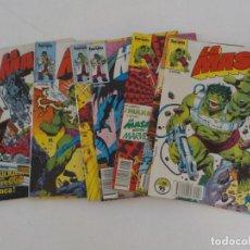 Cómics: LA MASA.EL INCREIBLE HULK.DOCE EJEMPLARES.COMICS FORUM. Lote 132230790
