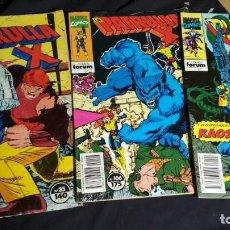 Cómics: LOTE 3 COMICS PATRULLA X VER FOTOS . Lote 132245454