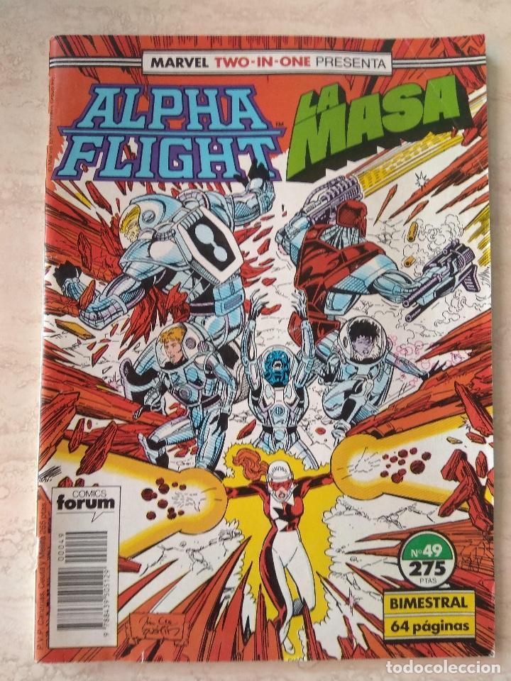 ALPHA FLIGHT / LA MASA. Nº49 COMICS FORUM (Tebeos y Comics - Forum - Alpha Flight)