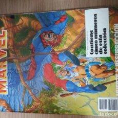 Cómics: CLÁSICOS MARVEL RETAPADO 21-25. Lote 132486962