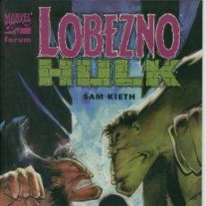 Cómics: LOBEZNO - HULK, SAM KIETH. Lote 132542890