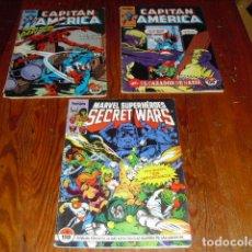 Cómics: CAPITÁN AMÉRICA- FORUM- NºS 4-10- SECRET WARS Nº 6 - AÑO 1985. Lote 132621786