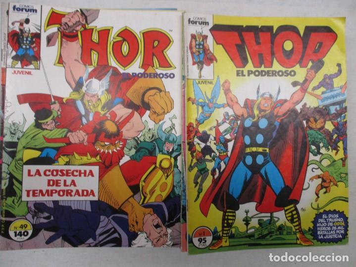 COLECCION THOR - DEL 1 AL 49 - FORUM (Tebeos y Comics - Forum - Thor)