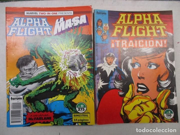 COLECCION ALPHA FLIGHT MARVEL TWO IN ONE LA MASA - DEL 6 AL 51 - FORUM 31 EJEMPLARES (Tebeos y Comics - Forum - Alpha Flight)