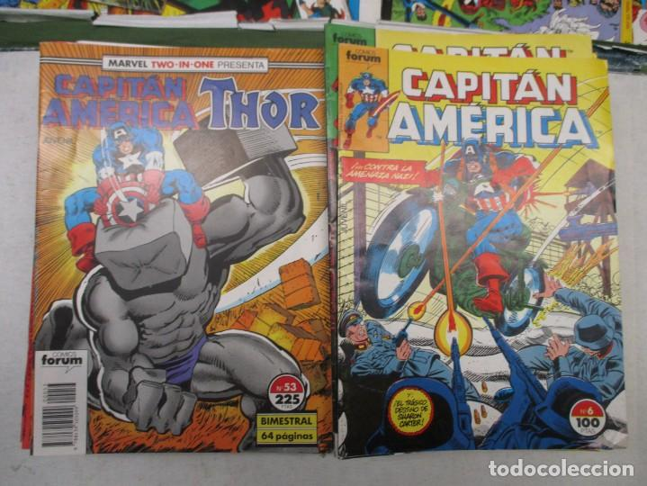 COLECCION CAPITAN AMERICA MARVEL TWO IN ONE THOR DEL 6 AL 69 - FORUM - 33 EJEMPLARES (Tebeos y Comics - Forum - Capitán América)