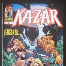 Cómics: KA-ZAR, Nº 2. FORUM. MARK WAID Y ANDY KUBERT. Lote 132653178