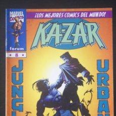 Cómics: KA-ZAR, Nº 8. FORUM. MARK WAID Y ANDY KUBERT. Lote 132653206
