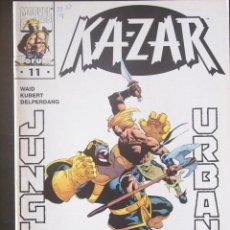 Cómics: KA-ZAR, Nº 11. FORUM. MARK WAID Y ANDY KUBERT. Lote 132653218