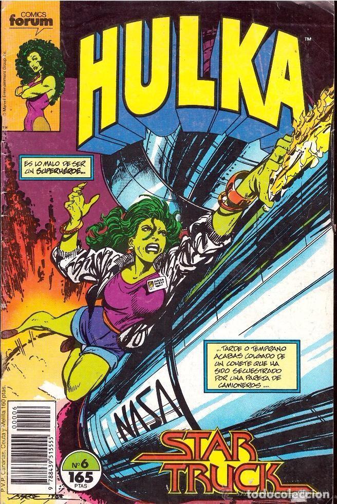 HULKA NUMERO 6 FORUM. BYRNE. (Tebeos y Comics - Forum - Hulk)