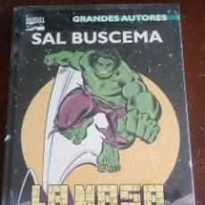 Cómics: GRANDES AUTORES - LA MASA - HULK - NUEVO SIN ABRIR (SAL BUSCEMA). Lote 132809186