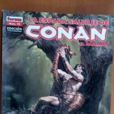 Cómics: LA ESPADA SALVAJE DE CONAN EL BÁRBARO. N°15. EDICIÓN COLECCIONISTAS. Lote 133083366