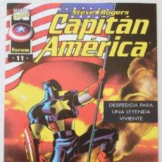Cómics: CAPITAN AMERICA - Nº 11 - 1997 - COMO NUEVO - NM. Lote 133100882
