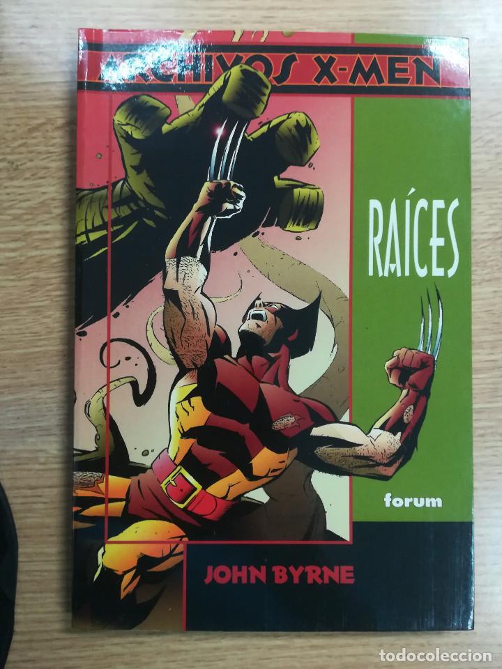 RAICES (ARCHIVOS X-MEN) (Tebeos y Comics - Forum - Prestiges y Tomos)