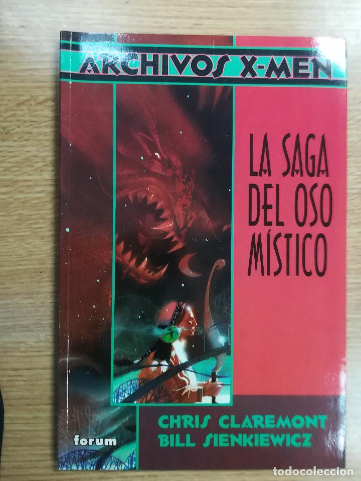 LA SAGA DEL OSO MISTICO (ARCHIVOS X-MEN) (Tebeos y Comics - Forum - Prestiges y Tomos)