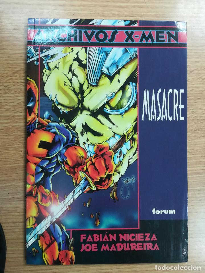 MASACRE (ARCHIVOS X-MEN) (Tebeos y Comics - Forum - Prestiges y Tomos)