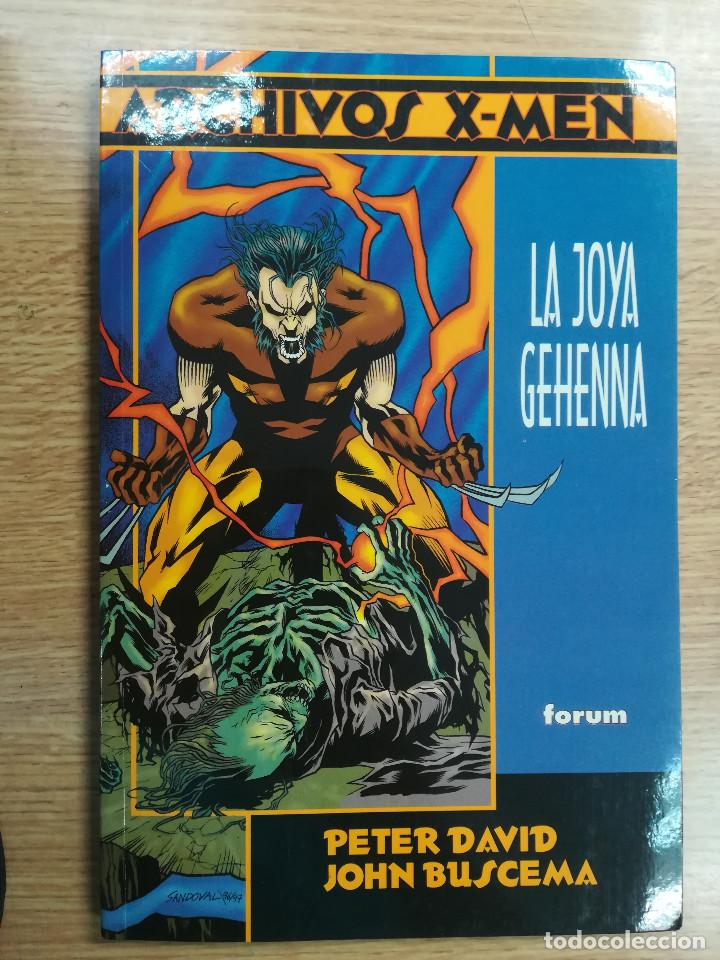 LA JOYA GEHENNA (ARCHIVOS X-MEN) (Tebeos y Comics - Forum - Prestiges y Tomos)