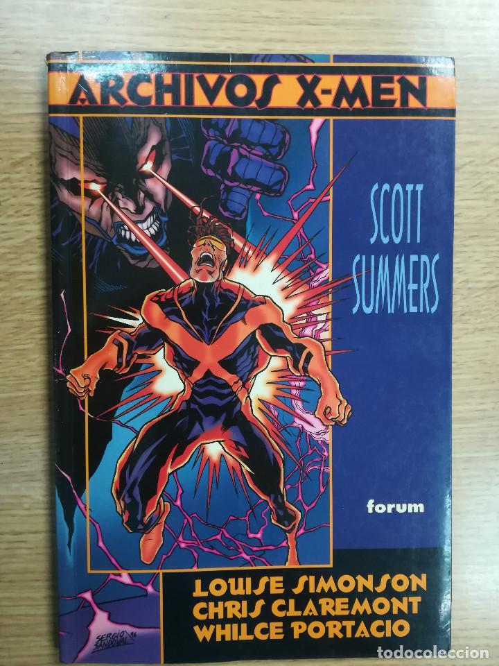 SCOTT SUMMERS (ARCHIVOS X-MEN) (Tebeos y Comics - Forum - Prestiges y Tomos)