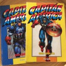 Cómics: CAPITAN AMERICA 2 VOLUMENES FORUM HEROES HEBORN. Lote 133300551