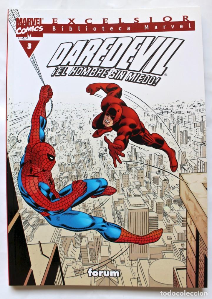 MARVEL COMICS- EXCELSIOR BIBLIOTECA MARVEL- DAREDEVIL- Nº 3 -2001-NM (Tebeos y Comics - Forum - Daredevil)