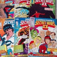Cómics: SPIDERMAN Y DAREDEVIL EN SECRET WARS II 6 NUMEROS COMICS FORUM. Lote 133356018