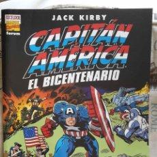 Cómics: CAPITÁN AMÉRICA: EL BICENTENARIO (JACK KIRBY, GRAN FORMATO -TIPO TREASURY-, ED. FORUM). Lote 133440042