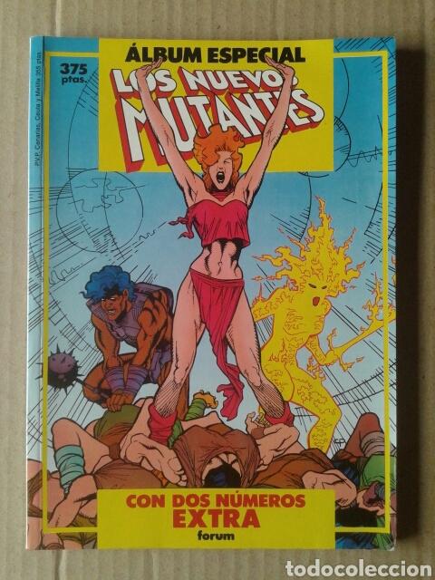 ÁLBUM ESPECIAL LOS NUEVOS MUTANTES: CON DOS NÚMEROS EXTRA (COMICS FORUM, 1987). (Tebeos y Comics - Forum - Nuevos Mutantes)