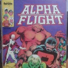 Cómics: ALPHA FLIGHT.NUMEROS 1 AL 5.FORUM.PRIMERA EDICIÓN.1985. Lote 133516510