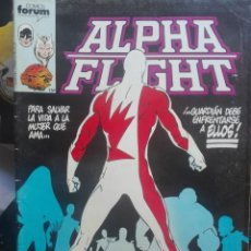 Cómics: ALPHA FLIGHT 7.FORUM.PRIMERA EDICIÓN.1985. Lote 133516846