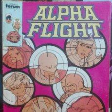 Fumetti: ALPHA FLIGHT 8.FORUM.PRIMERA EDICIÓN.1985. Lote 133516866