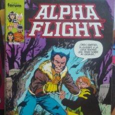 Cómics: ALPHA FLIGHT 10.FORUM.PRIMERA EDICIÓN.1985. Lote 133516946