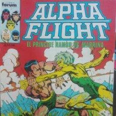 Cómics: ALPHA FLIGHT 12.FORUM.PRIMERA EDICIÓN.1986. Lote 133517082