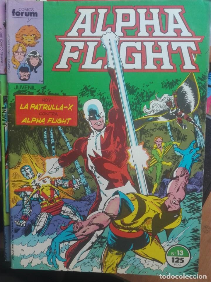 ALPHA FLIGHT 13.FORUM.PRIMERA EDICIÓN.1986 (Tebeos y Comics - Forum - Alpha Flight)