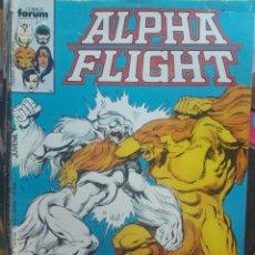 Fumetti: ALPHA FLIGHT 18.FORUM.PRIMERA EDICIÓN.1986. Lote 133518122