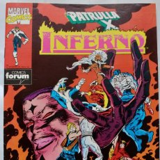 Cómics: COMICS FORUM-PATRULLA X INFIERNO- Nº 19-1991-NM. Lote 133542718