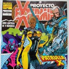 Cómics: MARVEL COMICS-PROYECTO EXTERMINIO Nº 7 - PATRULLA X - 1991-NM. Lote 133544066