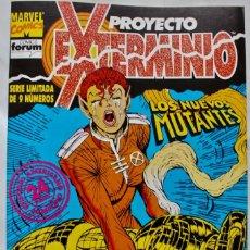Cómics: MARVEL COMICS-PROYECTO EXTERMINIO Nº 2 - LOS NUEVOS MUTANTES- 1992-NM. Lote 133544398