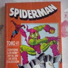 Cómics: FORUM - SPIDERMAN RETAPADO TOMO 41 CON LOS NUM. 281-282-283-284-285 . . Lote 133612426