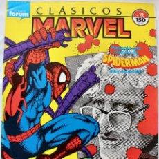 Cómics: COMIC FORUM- CLASICOS MARVEL- SPIDERMAN Nº 12 1989 -NM. Lote 133628814