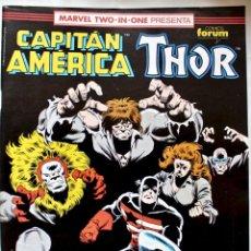 Cómics: MARVEL TWO IN ONE - CAPITAN AMERICA-THOR- Nº 75 - 1992- NM. Lote 133631762