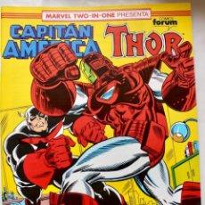 Cómics: MARVEL TWO IN ONE - CAPITAN AMERICA-THOR- Nº 76 - 1992- NM. Lote 133631906