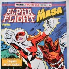 Cómics: MARVEL TWO IN ONE - ALPHA FLIGHT- LA MASA- Nº 60 - 1991- NM. Lote 133632382