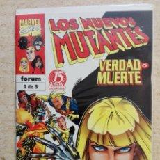 Cómics: LOS NUEVOS MUTANTES: VERDAD O MUERTE COMPLETA. Lote 133646318