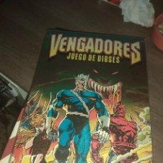 Cómics: LOS VENGADORES JUEGO DE DIOSES (FORUM) MBE. Lote 133647654